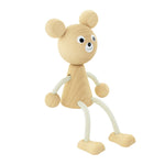 SOPHIE | Wooden Sitting Bear - The Mum Life