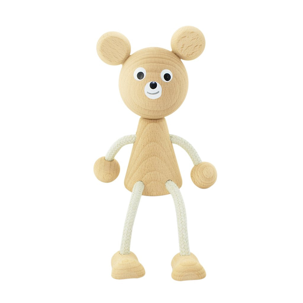 Sophie - Wooden Sitting Bear