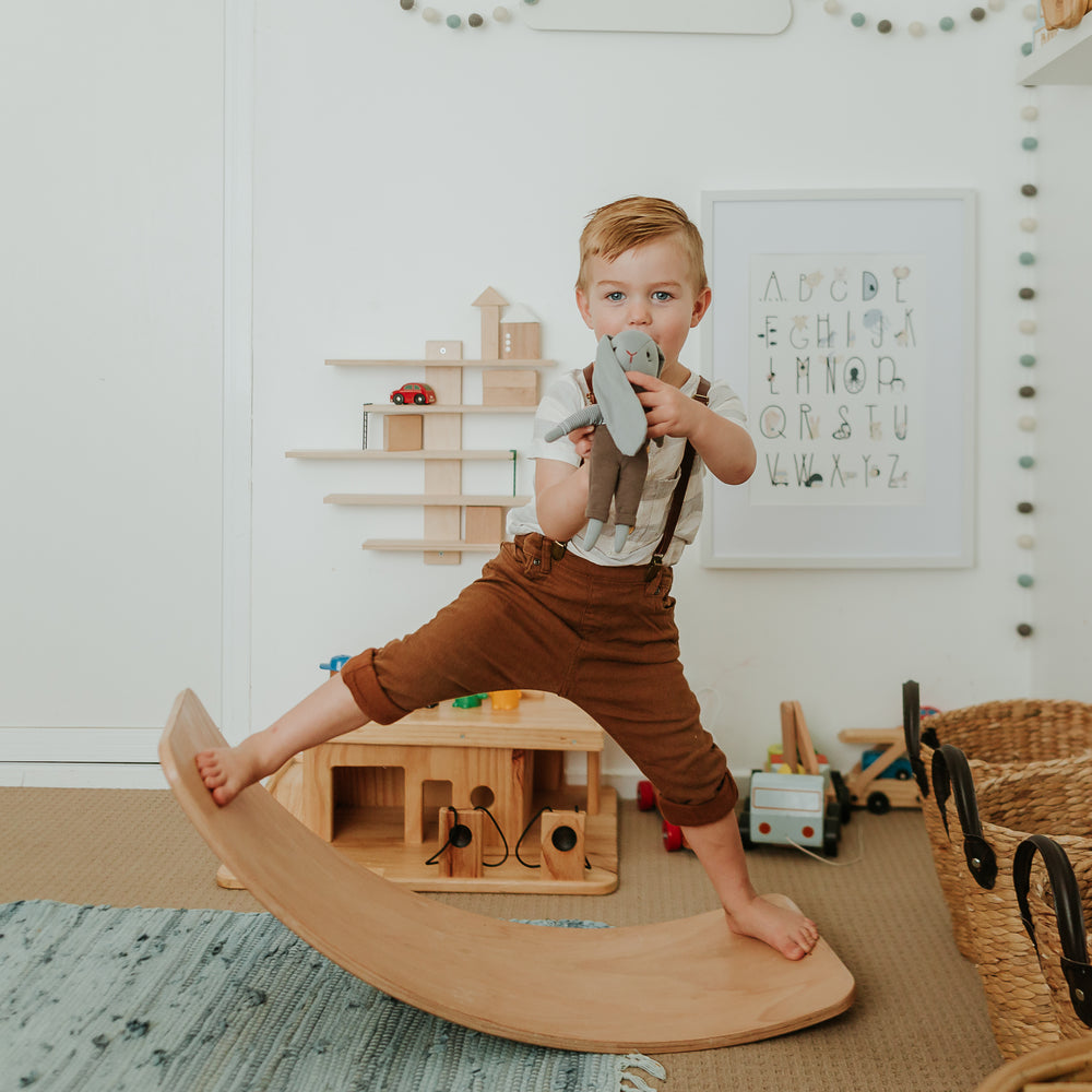 Kids Balance Board | Kinderboard Natural - The Mum Life