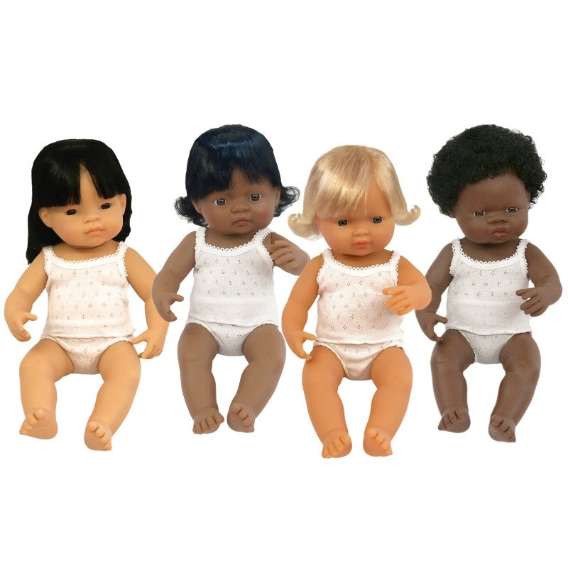 MINILAND Baby Doll Caucasian Girl (38cm) - The Mum Life