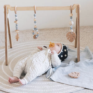 Baby Play Gym Wooden - Hand Crafted - The Mum Life