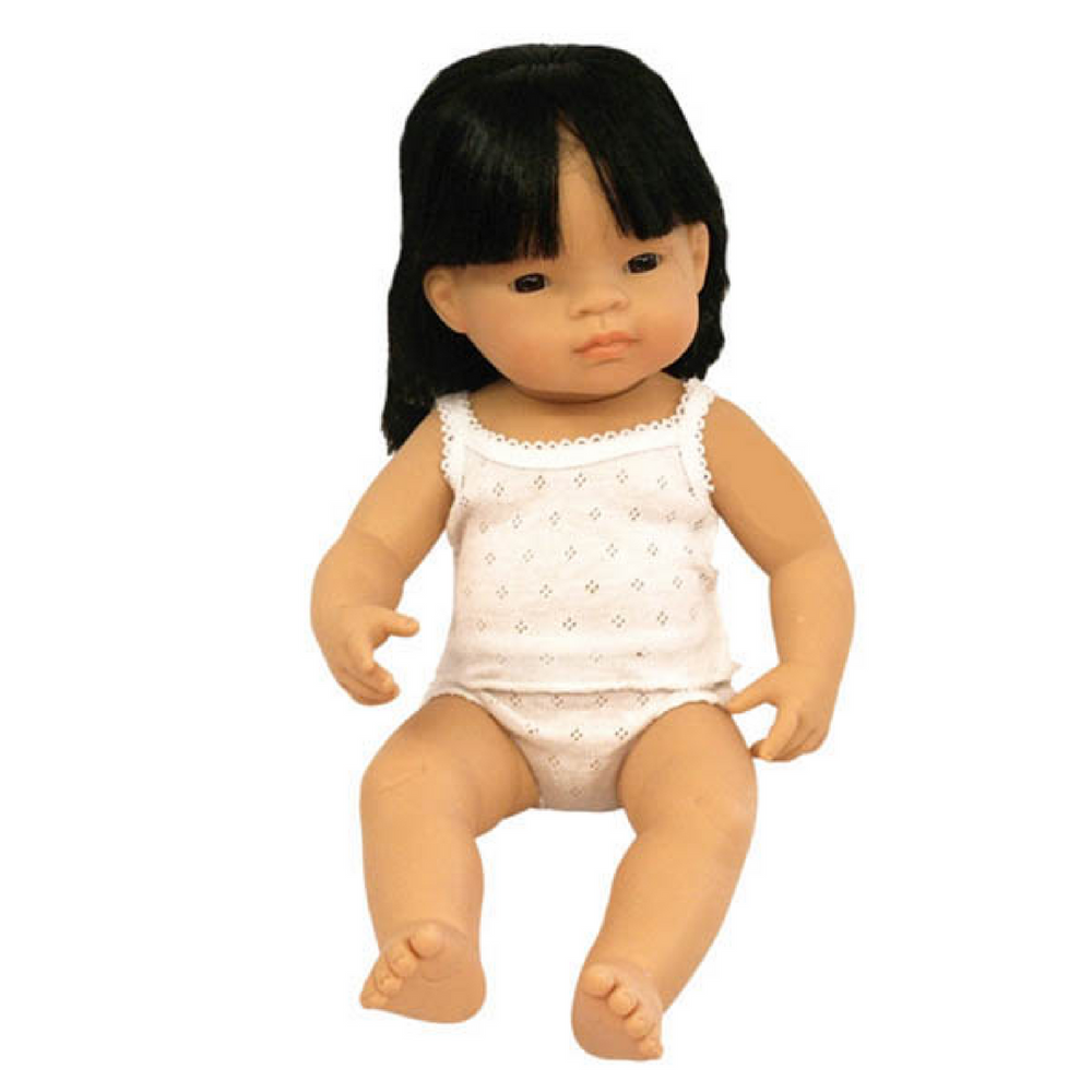 Asian Miniland Girl Doll | 38 cm - The Mum Life