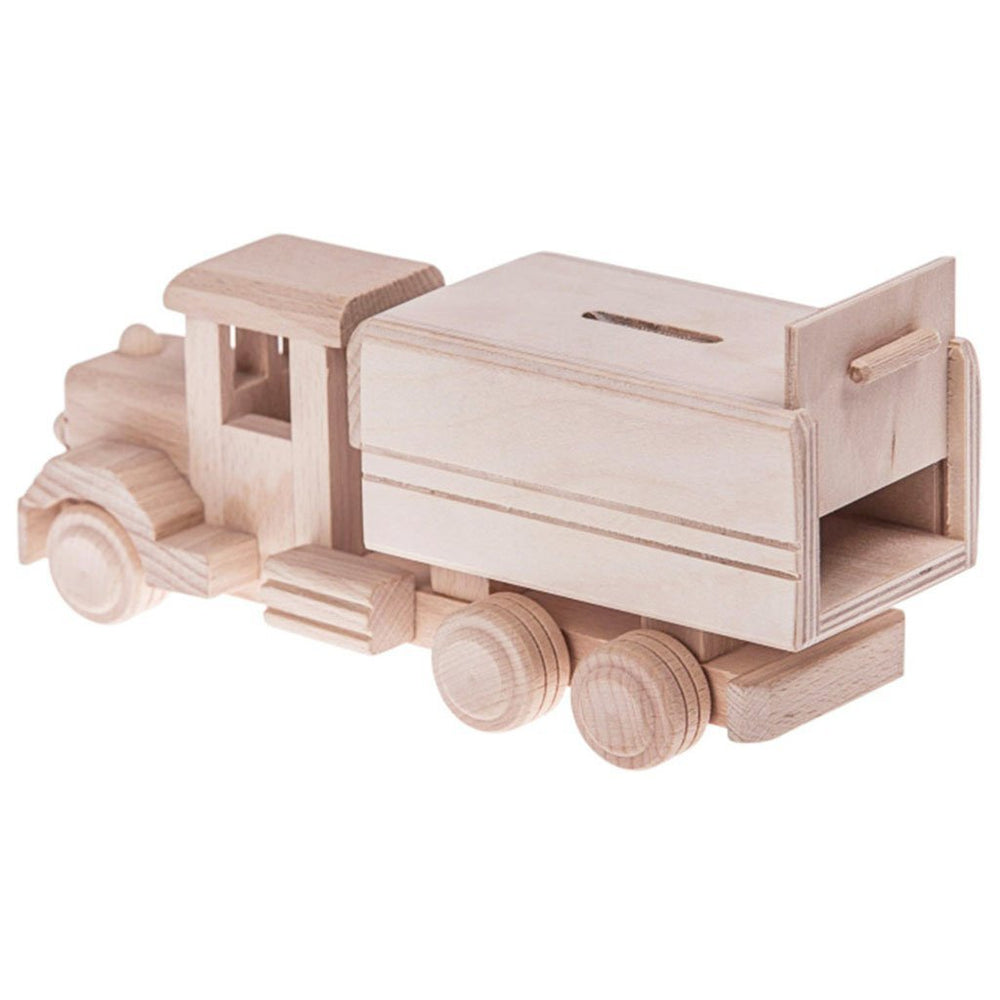 JESSIE | Wooden Money Box Truck - The Mum Life