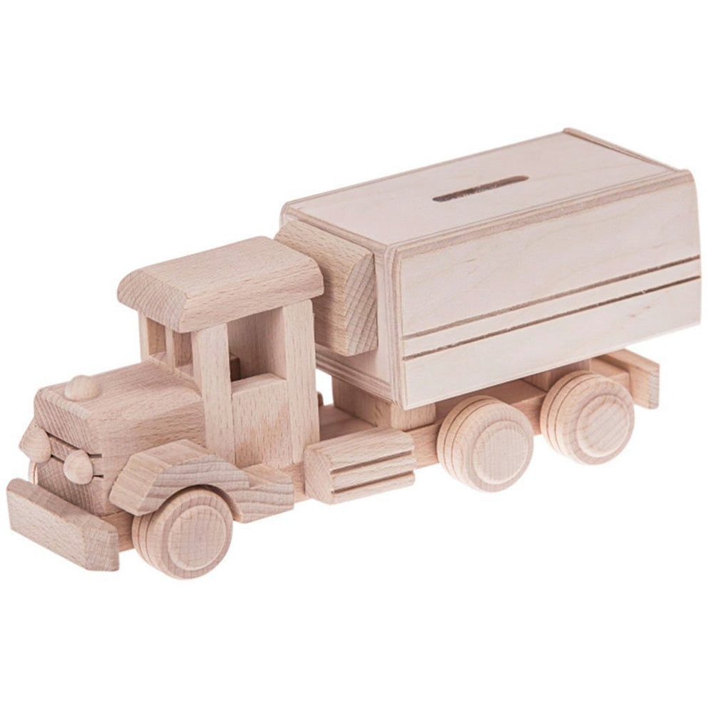 JESSIE | Wooden Money Box Truck