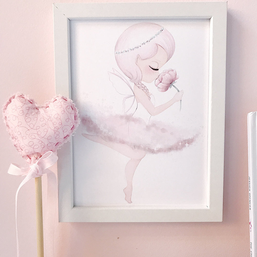 Crysta Ballerina - afterpay - wall print for girls nursery