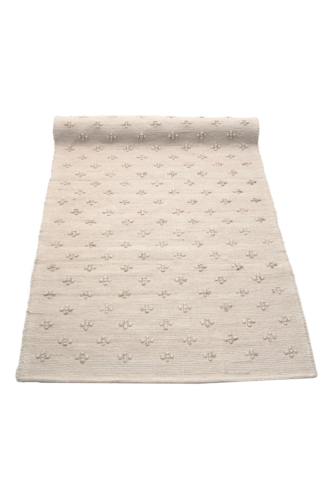 Liz Woven Cotton Naco Rug | BLUSH PINK - The Mum Life