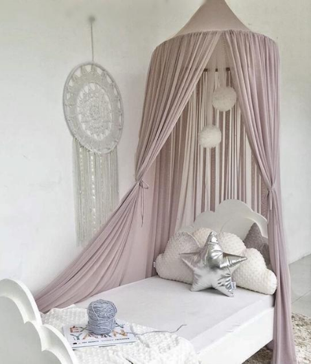 Spinkie Sheer Canopy | OLD ROSE - The Mum Life