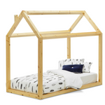 Wooden House Single Bed | TIMBER