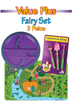 Garden Fairy Set | Cutlery, Plate and Placemet Set