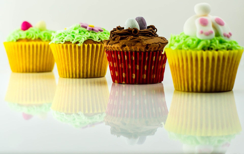 How to make grass for your Easter cupcakes? See now!