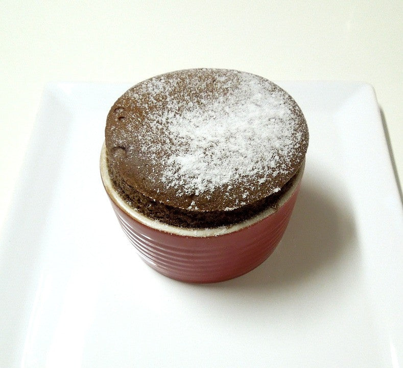 Chocolate mug cake - no flour, only 3 ingredients!