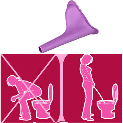 Honana BX-777 Women Urinal Travel Outdoor Camping Urination Device Stand Up Pee Female Urinal Toilet