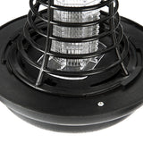 Loskii LG-GL1 UV LED Solar Powered Outdoor Mosquito Insect Pest Bug Zapper Killer Garden Light