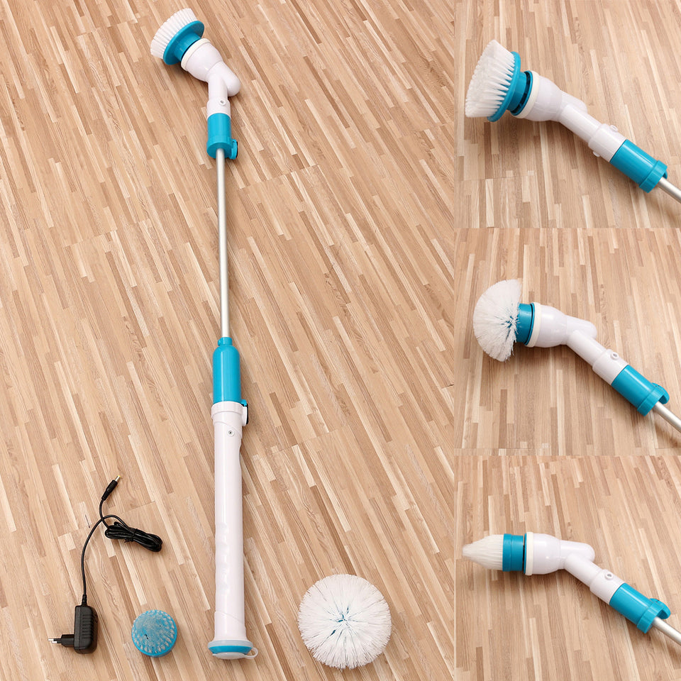 Hurricane Brush Mop Scrubber Bathtub Tiles Rechargeable Home Handheld Floor Cleaner Brush Cordless