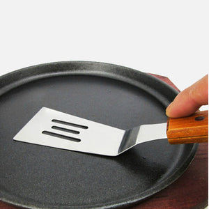 Stainless Steel BBQ Shovel Teppanyaki Steak Shovel Fried Shovel Multi-purpose Kitchen Tools