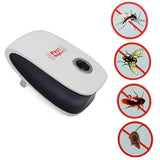 Ultrasonic Electronic Magnetic Drive Mosquito Repeller Rat Pest Repellent Reject Control