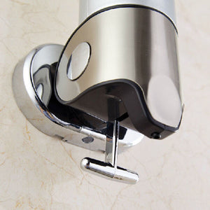 Wall-mounted Manual Soap Dispenser Bathroom Liquid Soap Box