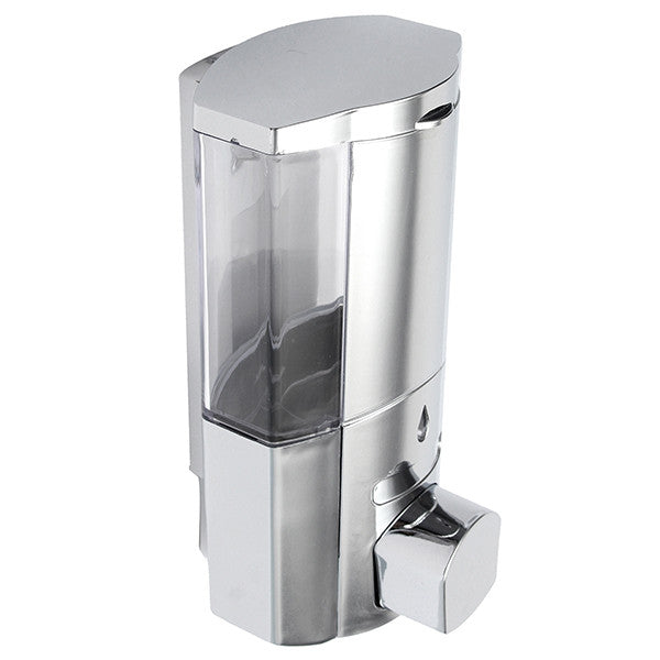 300ml Hand Operated Hand Sanitizer Dispenser Washroom Liquid Soap Shampoo Dispenser