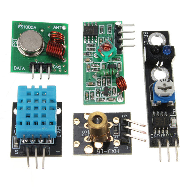 16PCS/Set For Raspberry Pi Zero W Sensor Kit Module Kits Ultrasonic Photoresisto