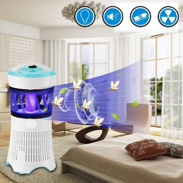 LED Flying Insect Killer Lamp Electric Zapper Bug Mosquito Fly Wasp Trap Pest Control