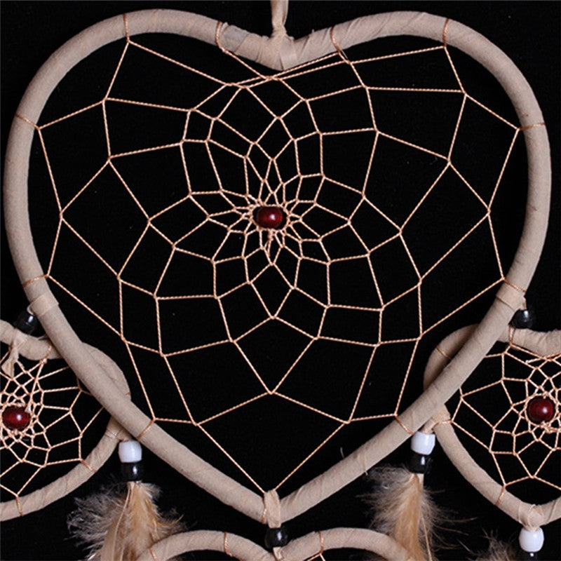 Vintage Dream Catcher With Feather Car - Wall Hanging Ornament Decoration
