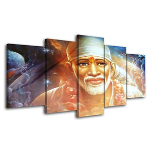 Pictures HD Vintage Home Decor 5 Pieces Hindu God Indian Paintings On Posters And Prints
