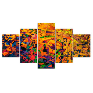 Wall Art Poster Modular Canvas HD Prints Paintings Abstract Art Artistic 5 Pieces Pictures Home Decor