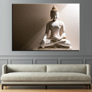 Canvas Pictures Home Art Decoration 1 Panel Paintings Buddha Statue Poster HD Prints Wall Artwork Modular