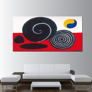 Modular Poster HD Prints Home Decor 1 Piece Circle Abstract Canvas Paintings Wall Art Pictures