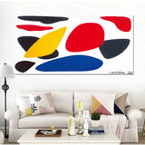 Wall Art Picture Gift Home Decoration Canvas Prints 1 piece Irregular Graph Painting Wall Modern Decorative Paintings