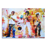Modern 1 Panel Abstract Artistic Music Oil Painting On Canvas Poster And Print Wall Picture Living Room Printed