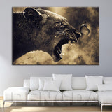 Wall Art Canvas Hd Prints Pictures 1 Panel Painting Animal Lion Butterfly Modular Poster Home Decoration