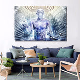 HD Modern 1 Panel Painting Canvas Psychedelic Artwork Home Decor Wall Art Picture Living Room Printed