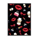 Wall Poster Nordic Canvas Print Hd Painting Abstract Lips Picture Contemporary Art Decoration Picture