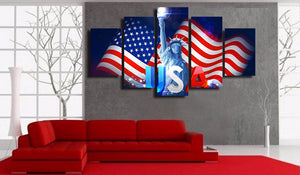 HD Printed Independence Day USA Painting Canvas Print Room Decor Print Poster Picture Canvas