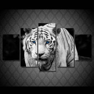 HD Printed White Tiger Landscape Group Painting Room Decor Print Poster Picture Canvas