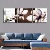 3PCS Modern Wall Painting Orchid Flower Home Decorative Home Art Picture Paint on Canvas Prints