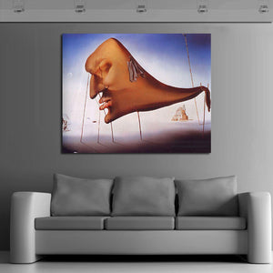 Oil Panting Dali Contemporary Original Abstract Art Canvas African American Art