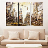 Oil Painting Print Modern Art of Landscape Building Canvas Art Home Decoration Modular Picture