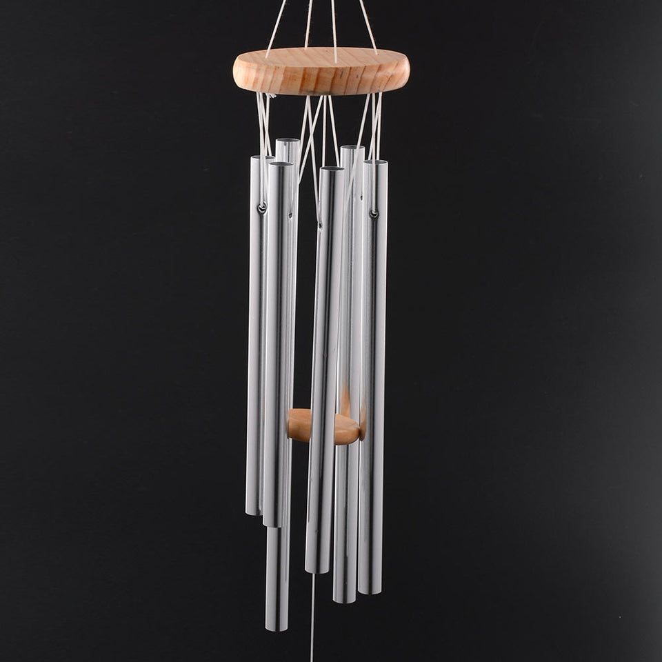 Grace Deep Resonant 6 Tube  Chapel Bells Wind Chimes Door Wall Hanging Home Dec