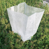 100 pieces plant-fiber Nursery Pots Seedling-raising bag Garden Supplies Can degrade Environmental