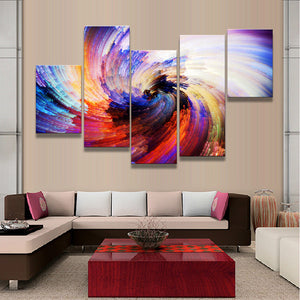 Abstract Canvas Painting Fireworks Combined Canvas Wall Art Picture Home Decor