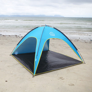 4 People Beach Tent Ultralight Beach Camping Tent Sun Shelter Folding Wind-resistant Anti-UV