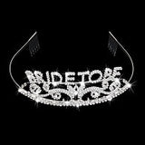 Tiara Hen Party Crown Bride to Be Bridal Shower Supply