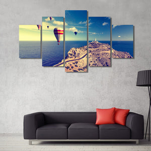 HD Printed Sea Balloons Painting Canvas Print Room Decor Print Poster Picture Canvas