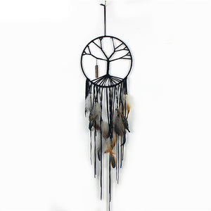 Handmade Big Tree of Life Wind Chimes Indian Style Feather Pendant Dream Catcher