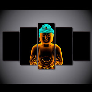 HD Printed Buddha Painting Canvas Decoration Print Poster Picture Canvas