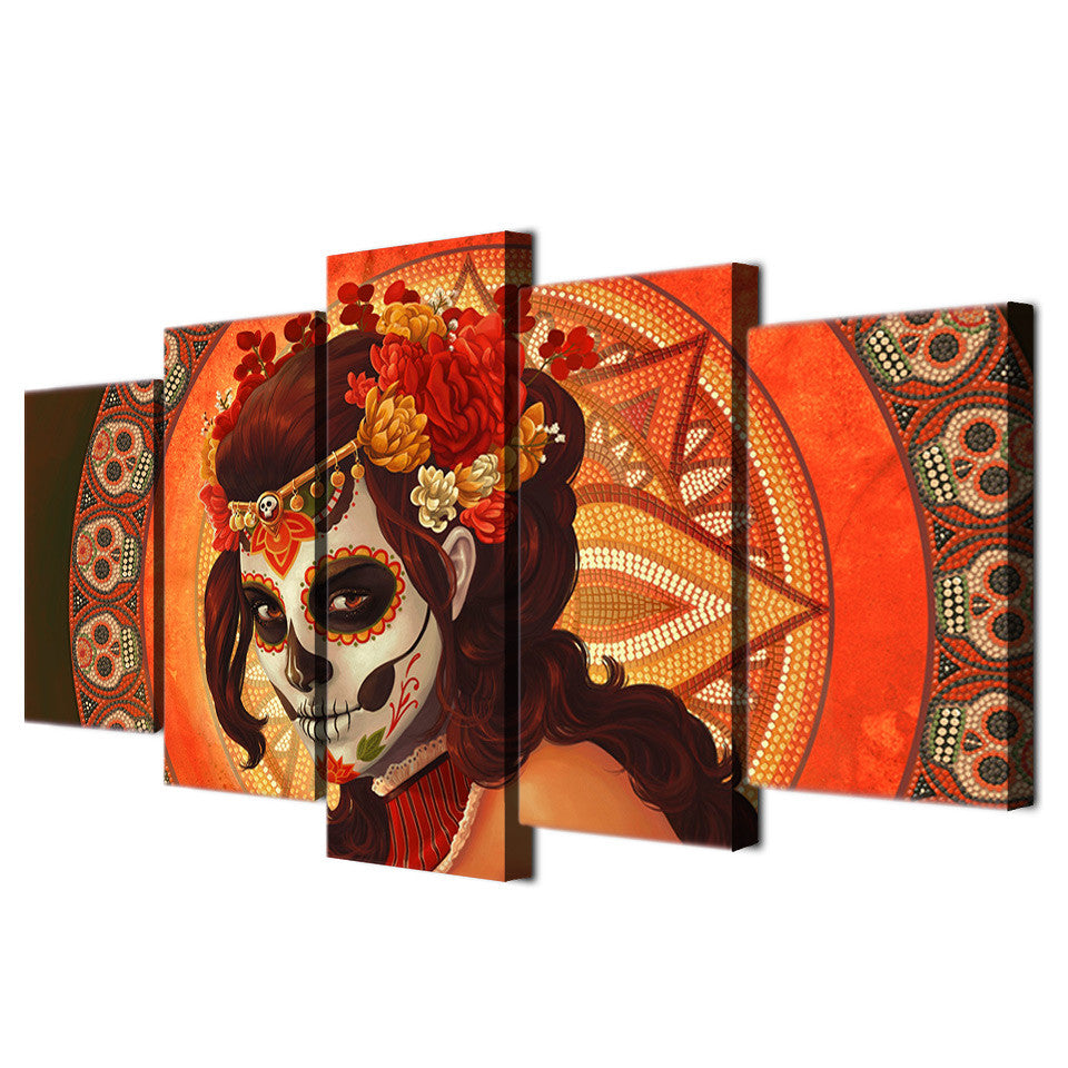 HD Printed Face Group Painting Room Decor Print Poster Picture Canvas Decoration