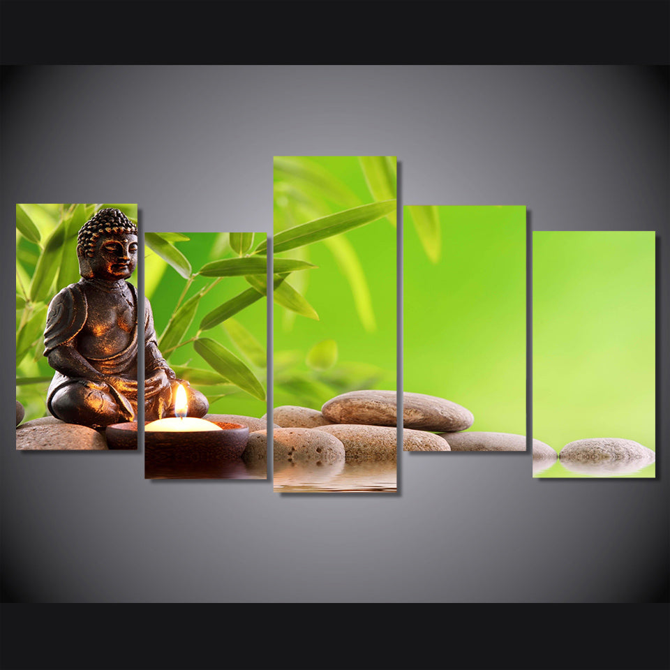 HD Printed Buddhist Art Painting On Decoration Print Poster Picture Canvas