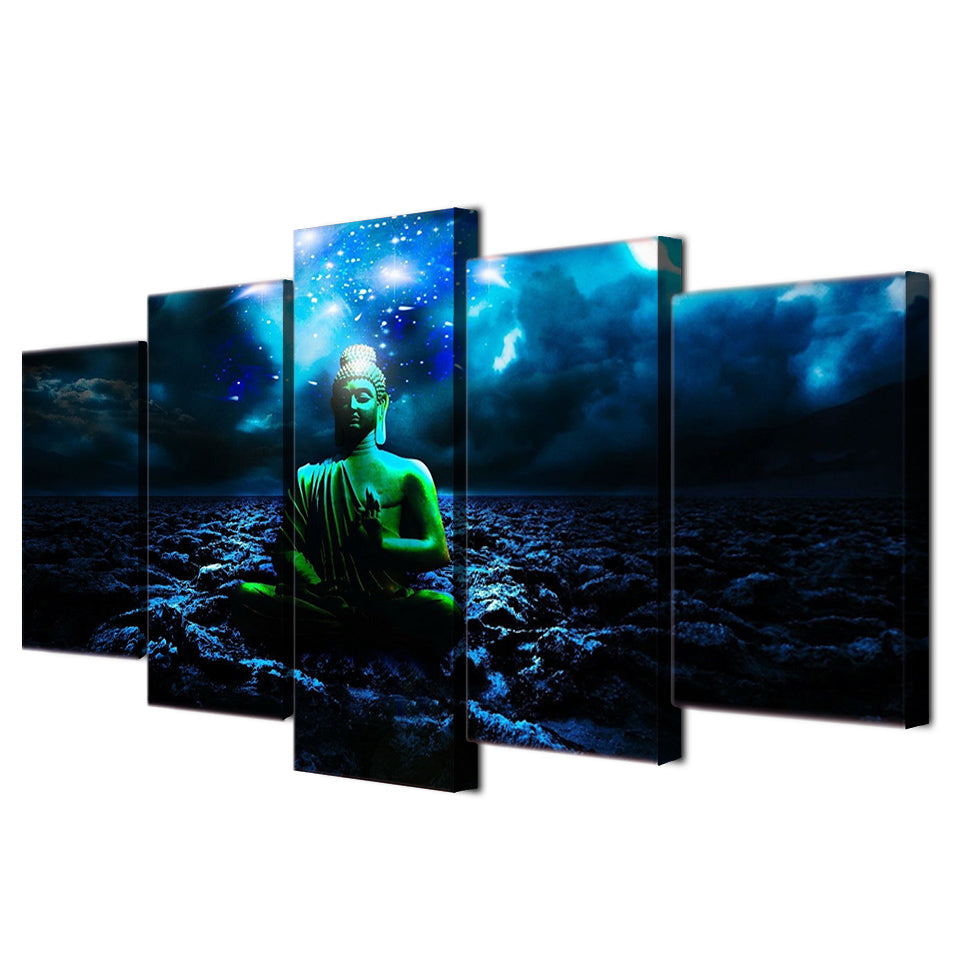 HD Printed Buddhist Art Painting Canvas Print Room Decor Print Poster Picture Canvas
